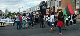 March Down Osage Avenue on May 13, 2015