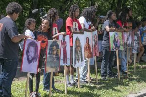 Children of the MOVE family remember MOVE 9 during dedication of new marker