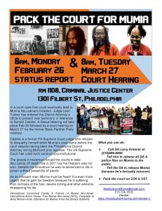 Pack the Court for Mumia!