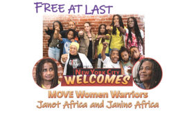 Welcome Home Our Sheroes, Janet & Janine Africa