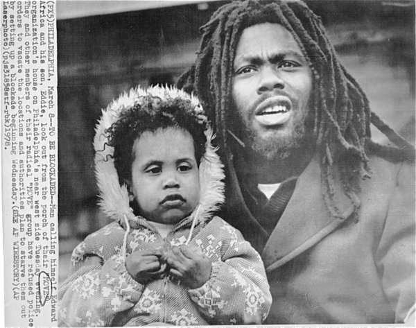 Eddie Africa and son, Eddie Africa Jr.