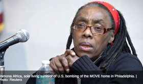 Black woman freedom fighter, Ramona Africa, Discusses MOVE, Liberation and Surviving 1985 Bombing