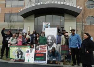 "Mon. April 6, 12 noon UPDATE. Demand ""No medical execution of Mumia!"""