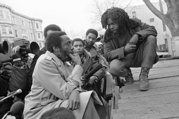 Dick Gregory and Phil Africa